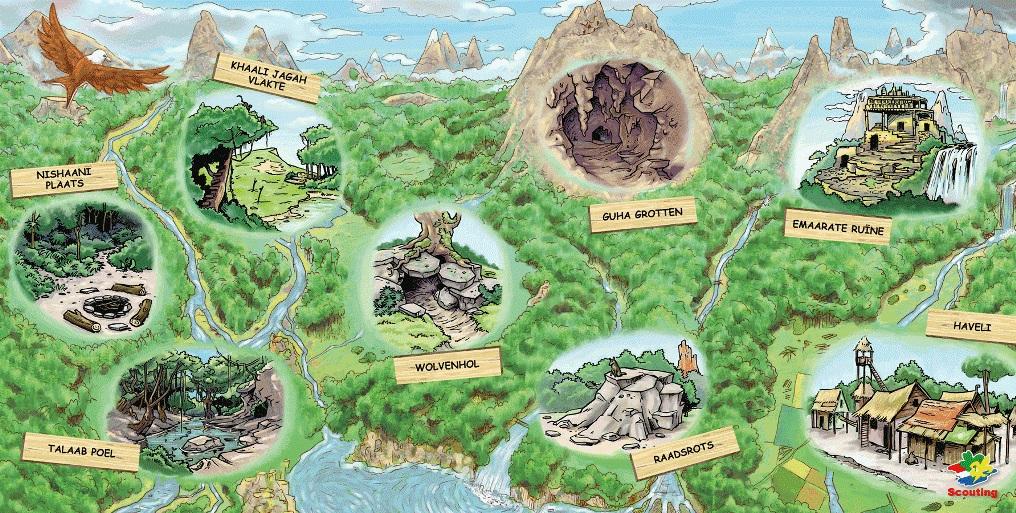 Jachtgebieden Jungleboek