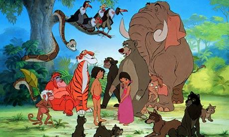 Jungledieren Disney