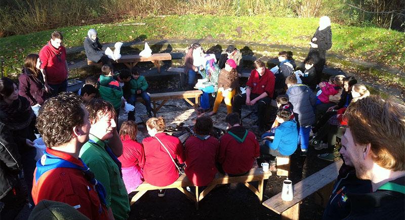Scoutingprogramma voor jeugdige vluchtelingen