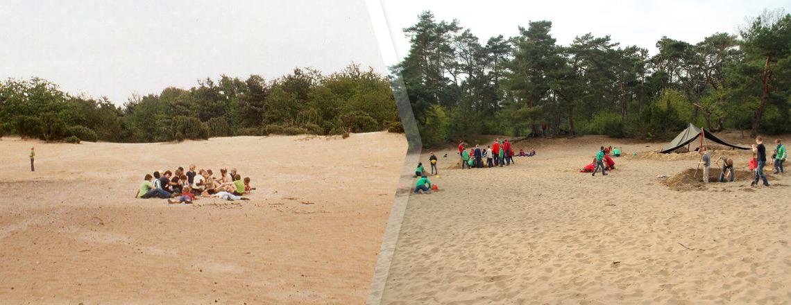 Sliderfoto 'Zandvlakte'