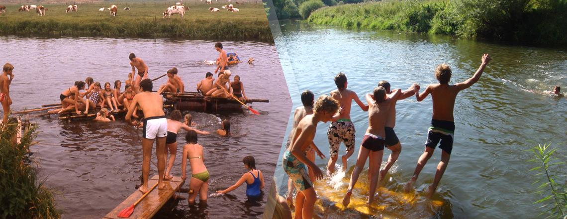 Sliderfoto 'Zwemmen'