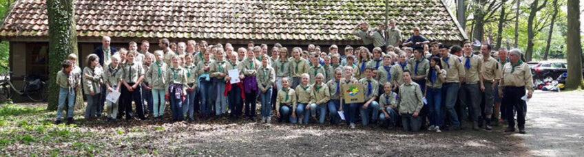 Verkenners 1e bij de Regionale Scouting Wedstrijden