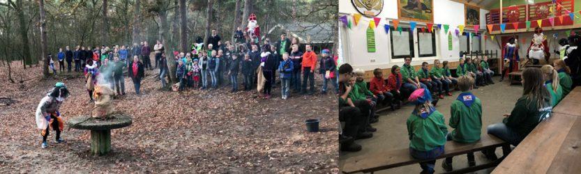 Sinterklaas bij Teylersgroep Scouting Losser
