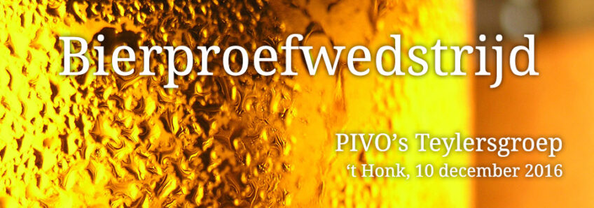 Bierproefwedstrijd PIVO's