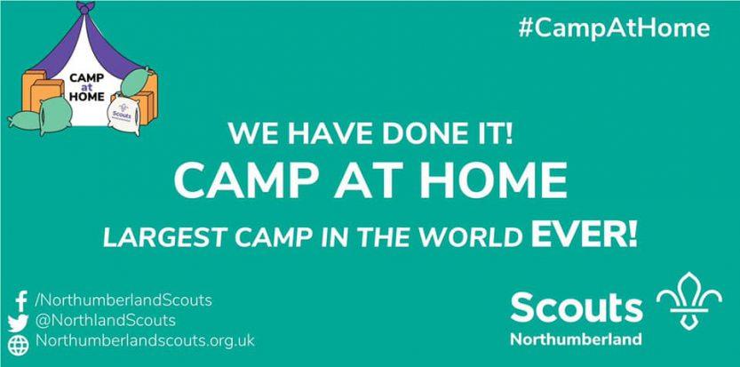 Camp At Home Recordpoging Thuiskamperen