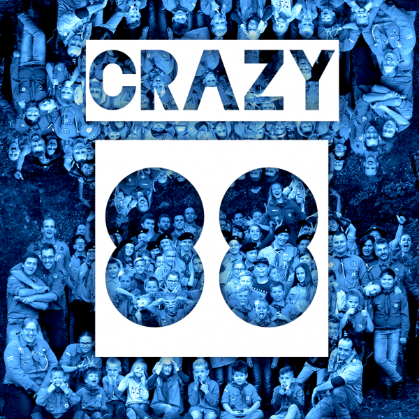 Crazy 88 Teylersgroep Scouting Losser