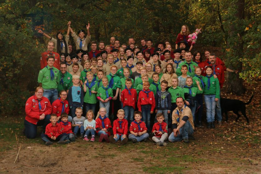 Groepsfoto Teylersgroep JOTA 2018