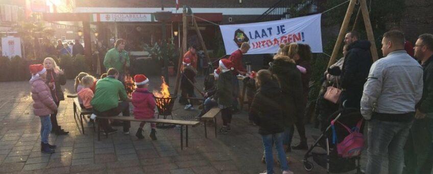Gezelligheid op de Losserse kerstmarkt