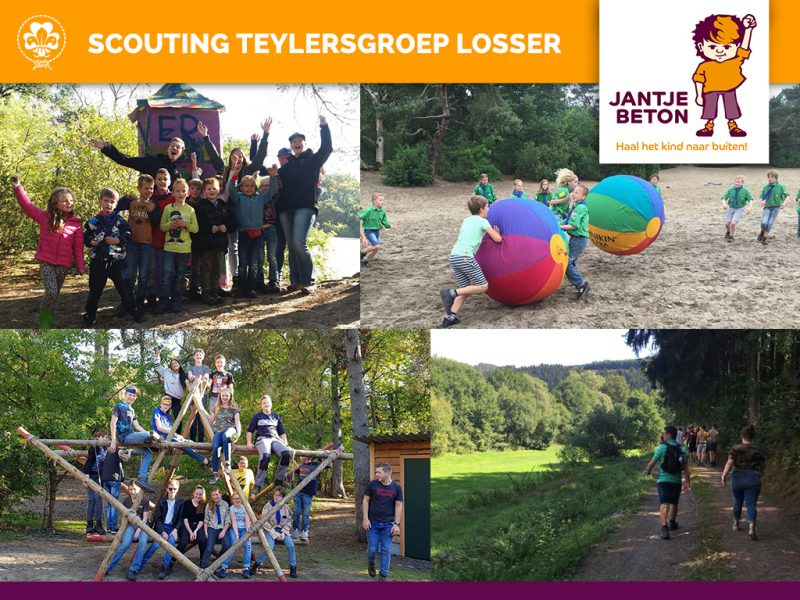 Jantje Beton Collecte 2019 - Teylersgroep Scouting Losser