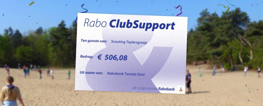 Rabo ClubSupport levert mooi bedrag op!