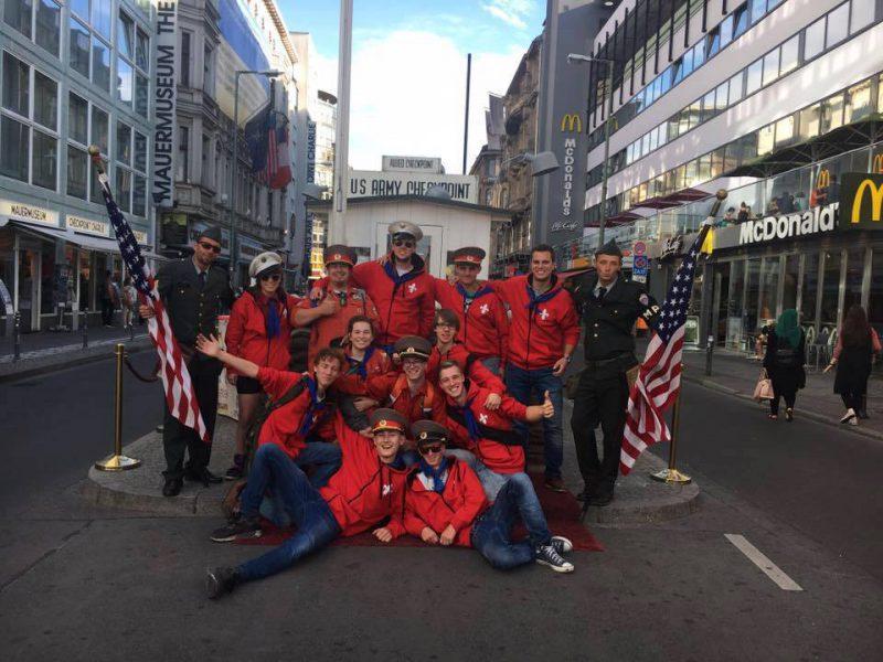 Rowans Sherpas in Berlijn