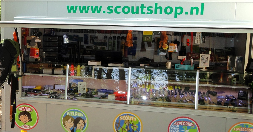 Mobiele scoutshop in Losser op 5 november