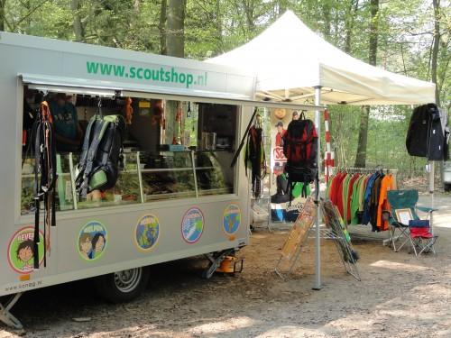 Mobiele Scoutshop