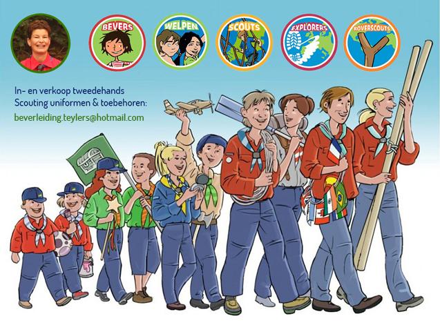 Tweedehands Scouting Uniformen Teylersgroep Scouting Losser