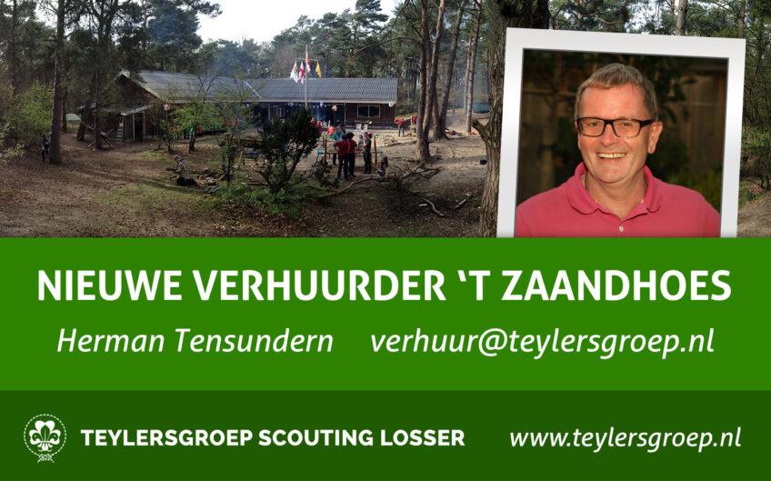 Even voorstellen: Herman Tensundern nieuwe verhuurder 't Zaandhoes